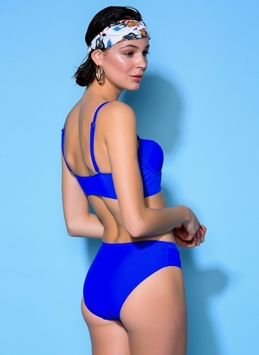 Loves You Fileli Cup Bikini Takım Saks